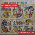 Folk Songs Of India - D/ELRZ.11